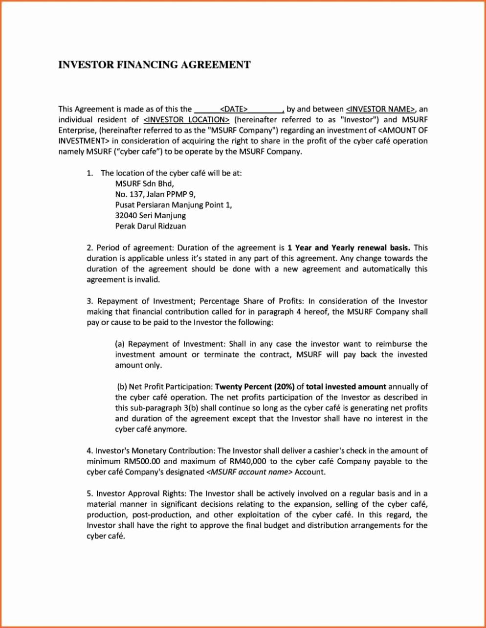 Talent Management Contract Template New Talent Management Contract Template Sampletemplatess