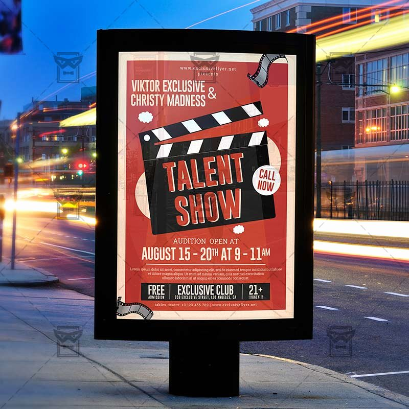 Talent Show Flyer Template Best Of Talent Show – Club A5 Template Exclsiveflyer