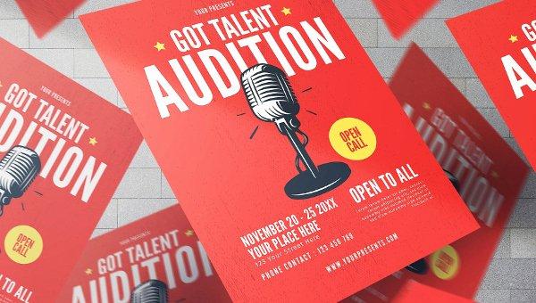 Talent Show Flyer Template Free Luxury Talent Show Flyer Templates 19 Free & Premium Download