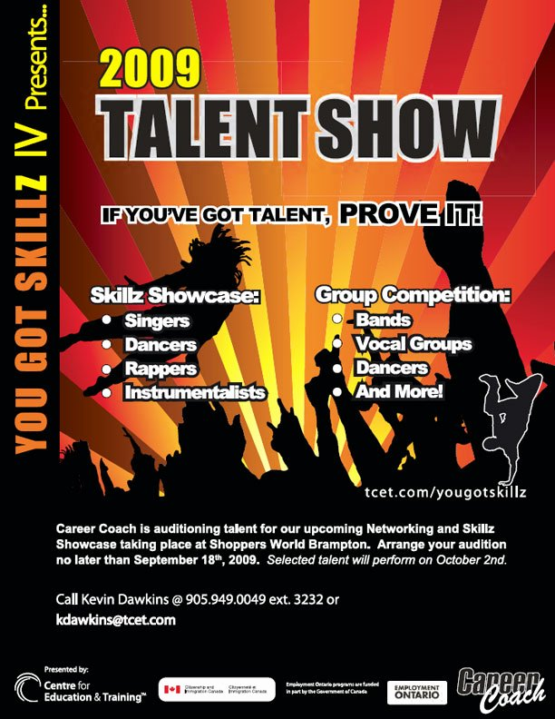 Talent Show Flyer Template Inspirational Poster and Flyer Designs Sample