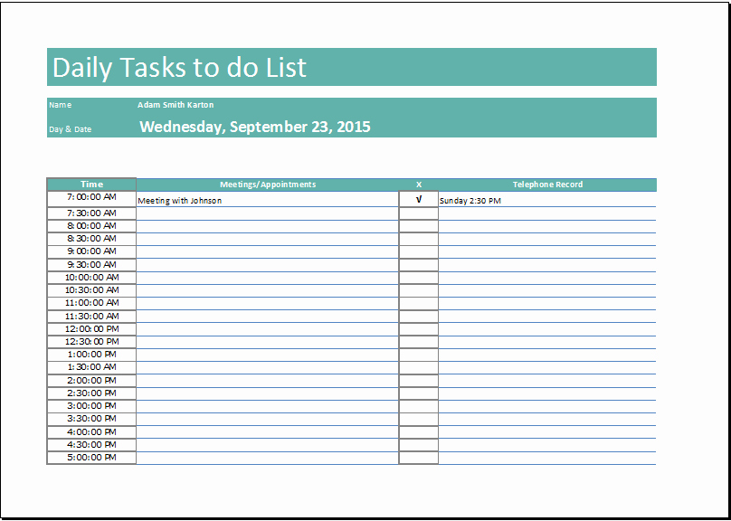 Task List Template Word Best Of Daily to Do List Templates – Emmamcintyrephotography