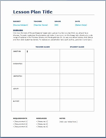 Teacher Daily Schedule Template Awesome Teacher Daily Lesson Planner Template