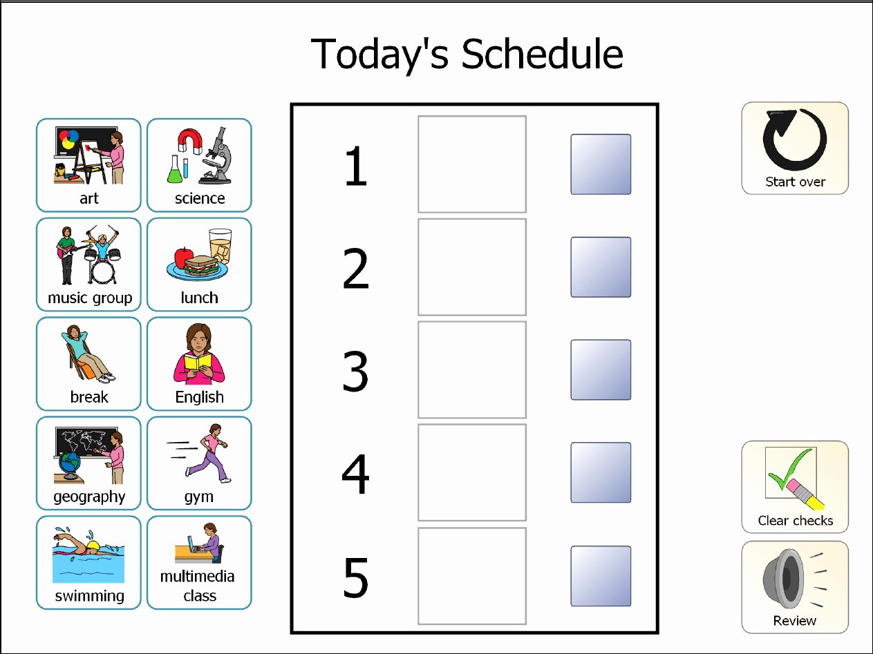 Teacher Daily Schedule Template Best Of Printable Classroom Schedule Template Clipart Clipground