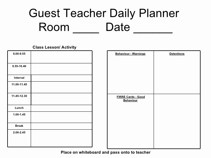 Teacher Daily Schedule Template Unique Daily Schedule Template for Teachers Driverlayer Search