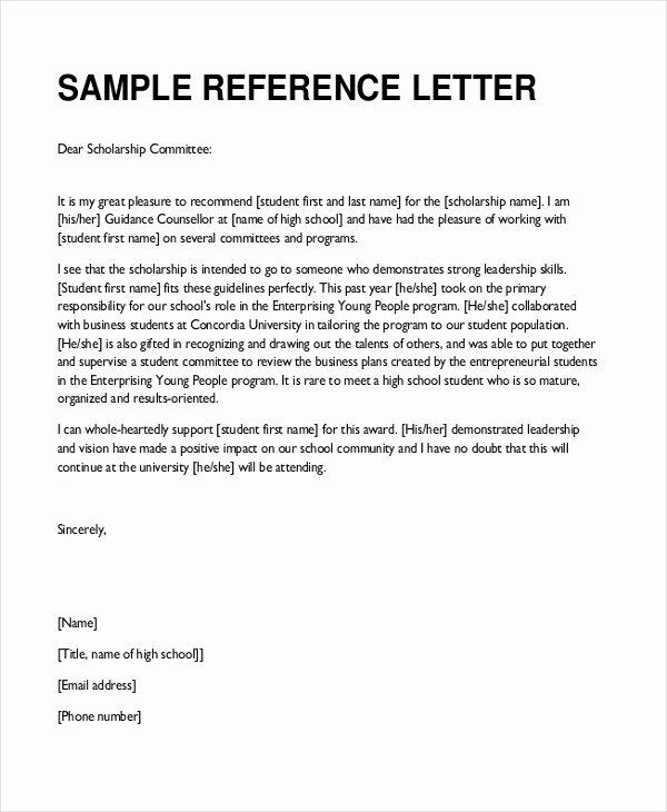 Teaching Letter Of Recommendation Template Lovely Free 7 Sample Teacher Re Mendation Letters In Pdf