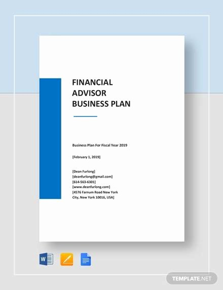 Technical Report Template Word Awesome Sample Financial Plan 11 Documents In Word Excel