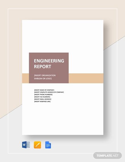 Technical Report Template Word New 10 Technical Report Templates Docs Pdf Word