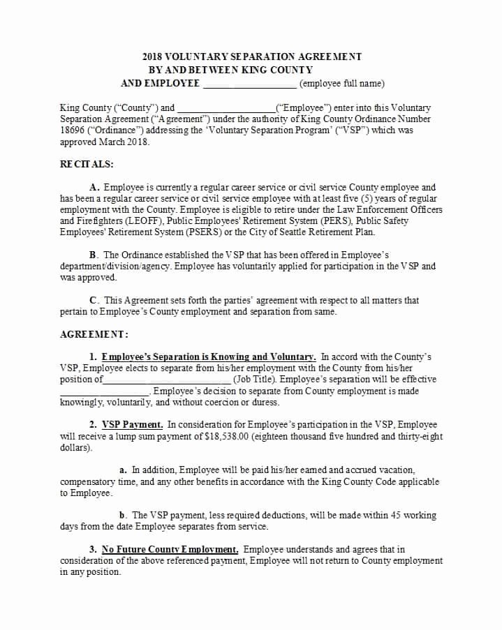 Template for Separation Agreement Beautiful 43 Ficial Separation Agreement Templates Letters