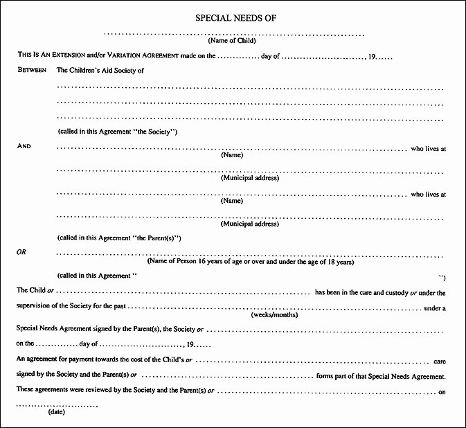 Template for Separation Agreement Best Of Separation Agreement Template