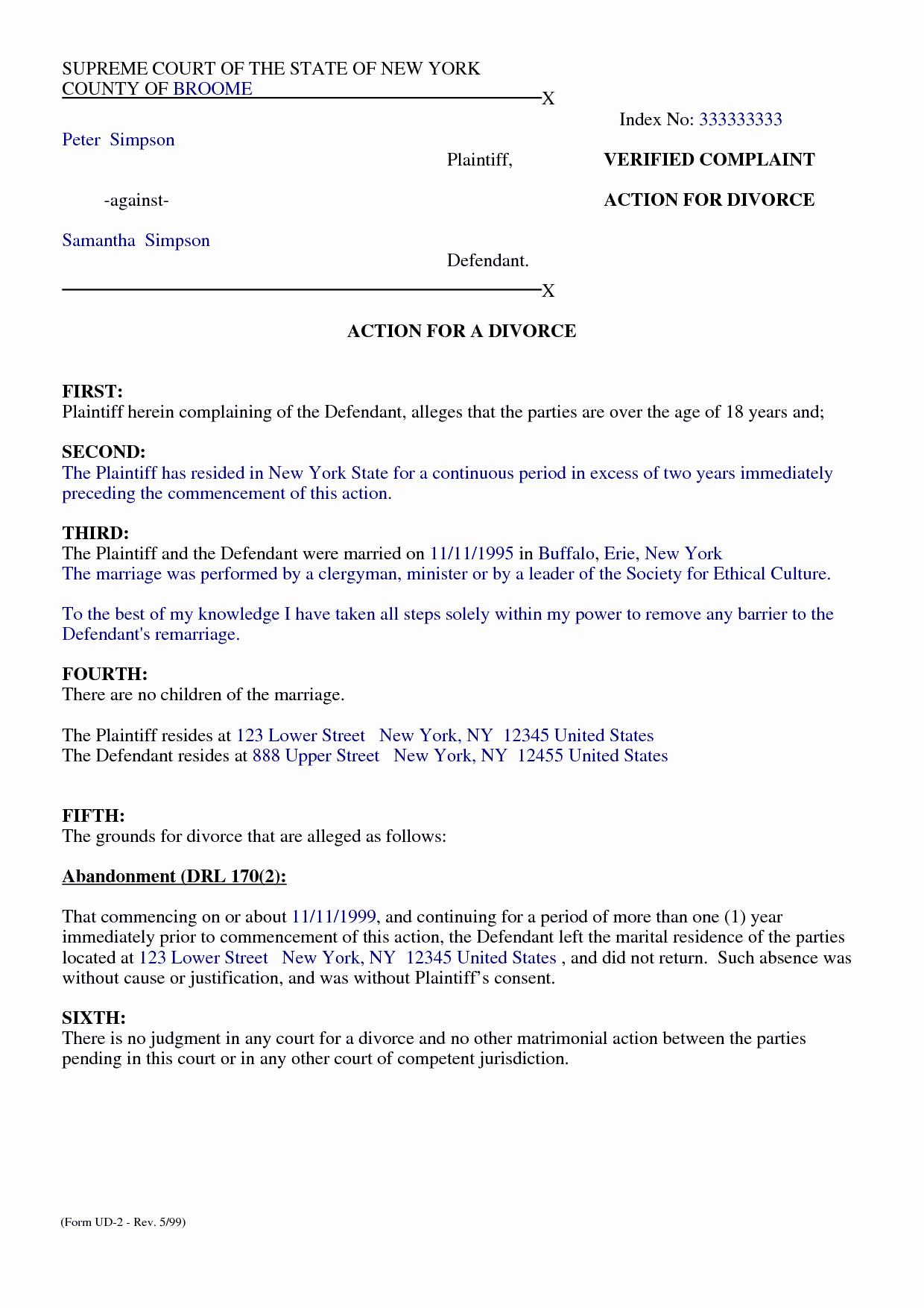 Template for Separation Agreement Best Of top 5 Free formats Of Separation Agreement Templates