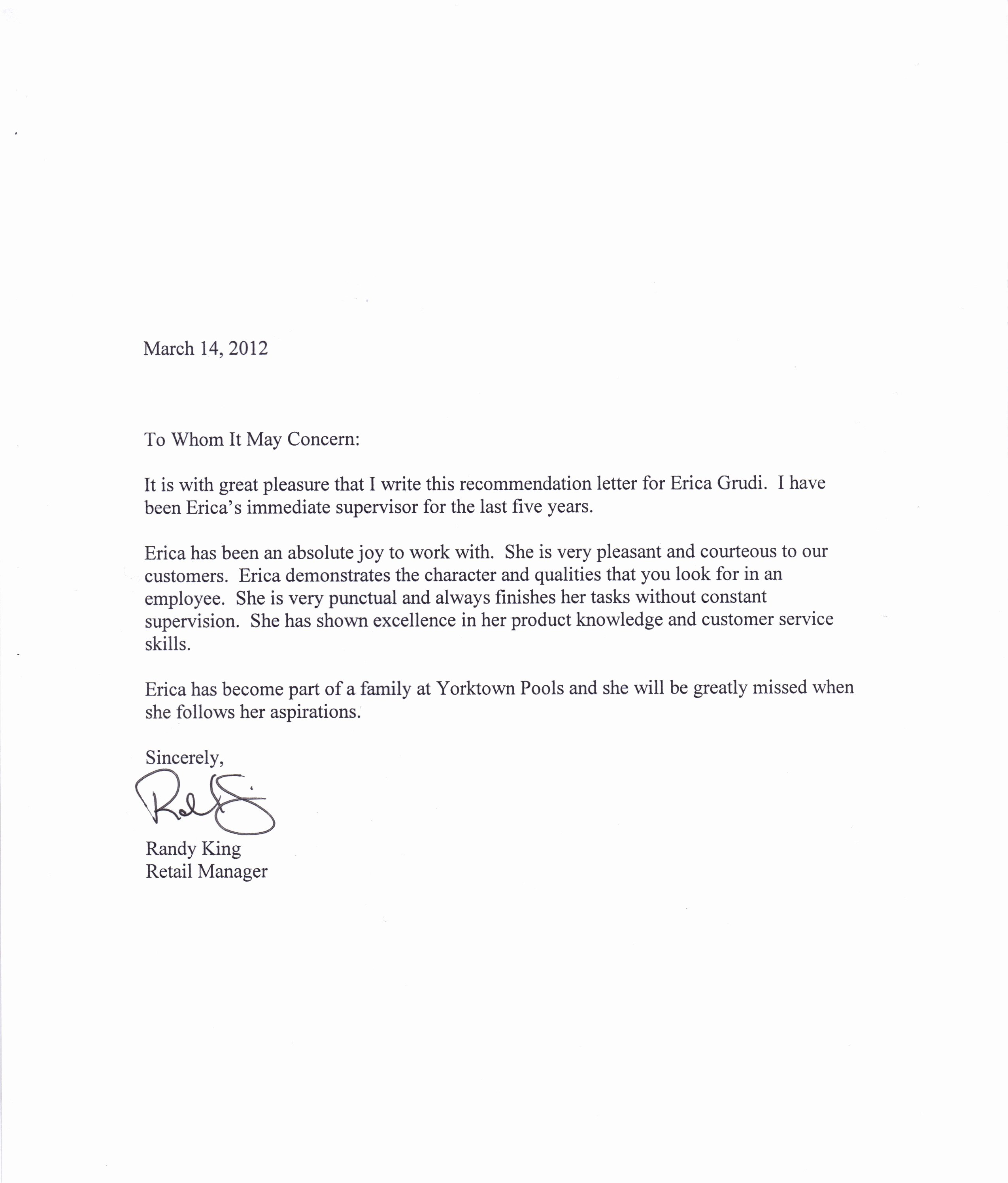 Template Letter Of Recommendation New Tips for Writing A Letter Of Re Mendation
