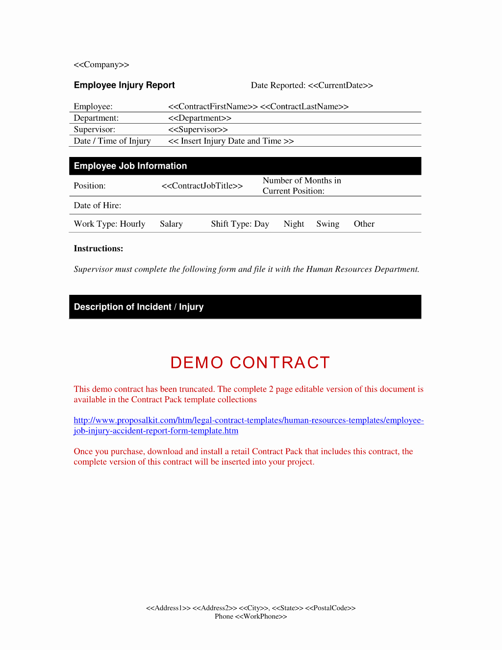 Temporary Employment Contract Template Best Of Temporary Employment Contract Sample form Free Printable