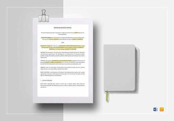 Temporary Employment Contract Template Lovely Temporary Employment Contract Sample Temporary Employment