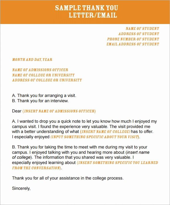 Thank You Email Template Best Of Thank You Email Template 6 Free Download for Pdf