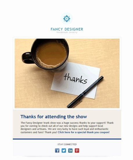 Thank You Email Template Fresh 92 Best Images About Email Templates From Constant Contact