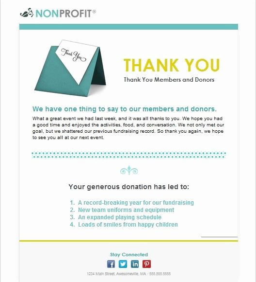 Thank You Email Template Lovely 92 Best Images About Email Templates From Constant Contact
