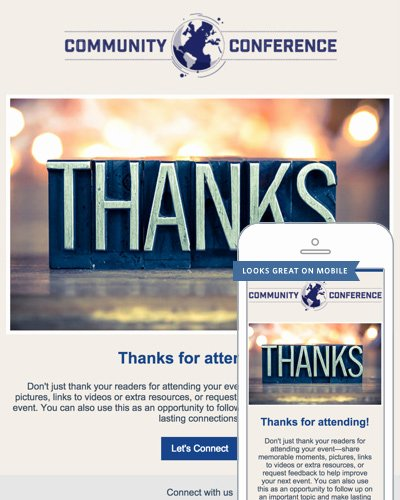 Thank You Email Template Luxury Thank You Email Templates
