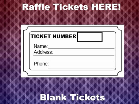 Ticket Template for Pages New Raffle Ticket Template 8 Blank Raffle Tickets Per Page Party