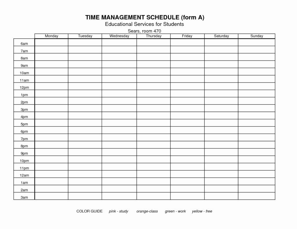 Time Management Sheet Template Elegant Time Management Spreadsheet Template Spreadsheet Templates