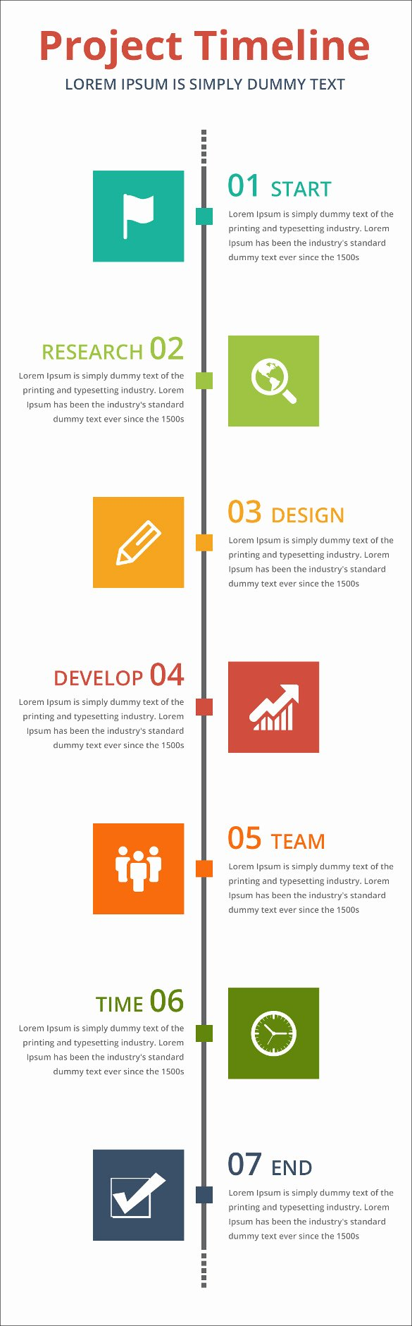 Timeline Template for Word Awesome Project Timeline Templates 19 Free Word Ppt format