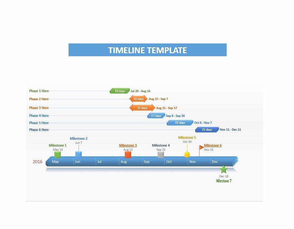 Timeline Template for Word Luxury 30 Timeline Templates Excel Power Point Word