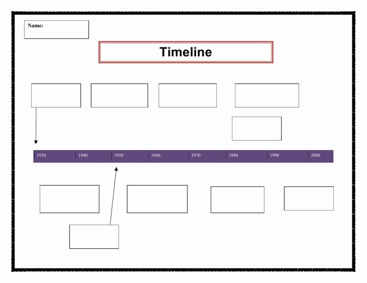 Timeline Template for Word Luxury 7 Personal Timeline Template Free Download