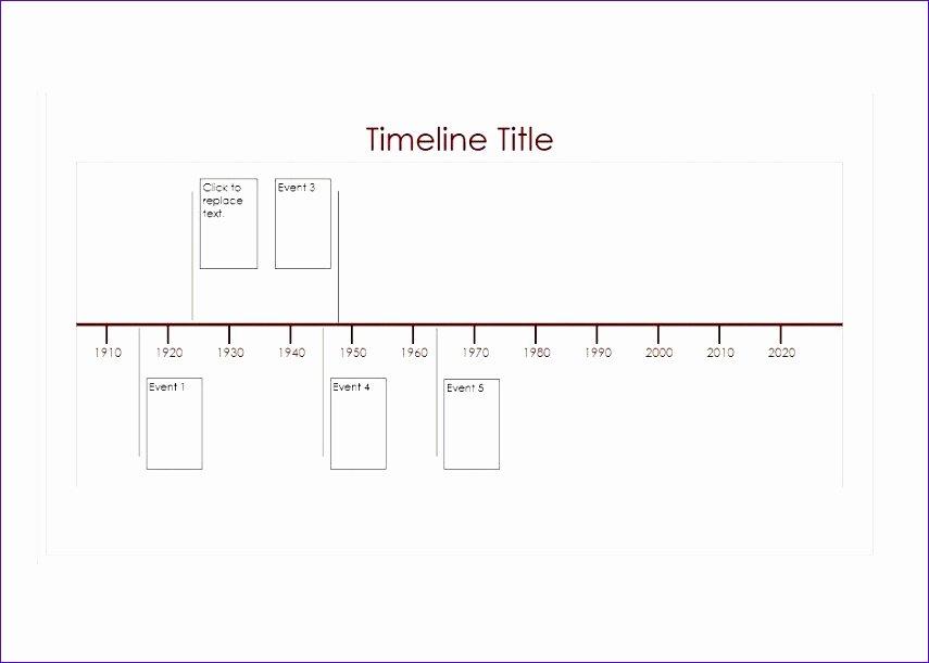 Timeline Template for Word New 6 Excel Timeline Templates Exceltemplates Exceltemplates