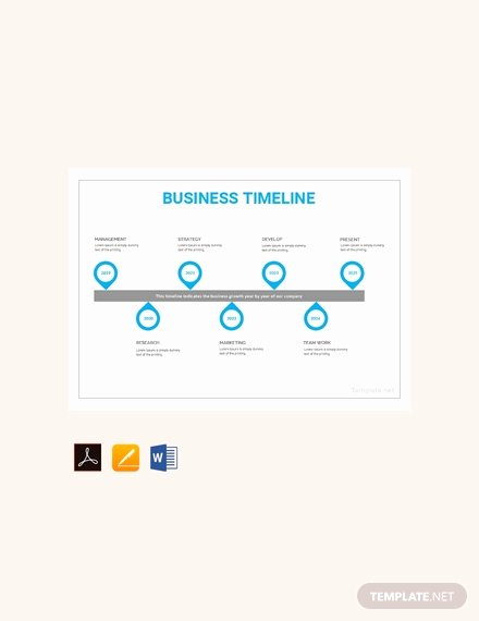 Timeline Templates for Mac Best Of Free Simple Timeline Template Download 175 Charts In