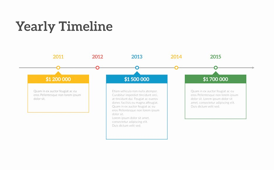 Timeline Templates for Mac Fresh Timeline Powerpoint Template