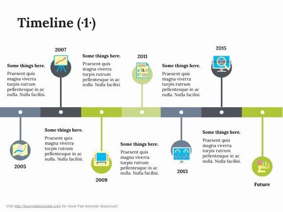 Timeline Templates for Mac Inspirational Free Apple Keynote Template Timeline On Behance