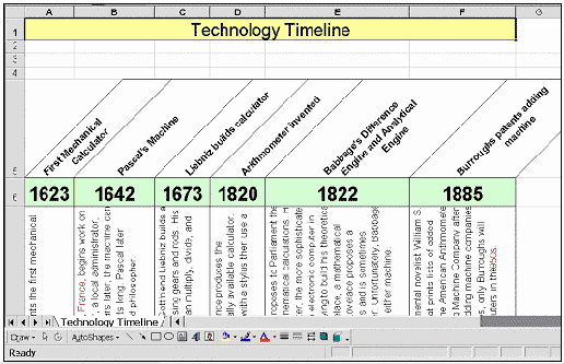 Timeline Templates for Mac New Timeline Template for Mac