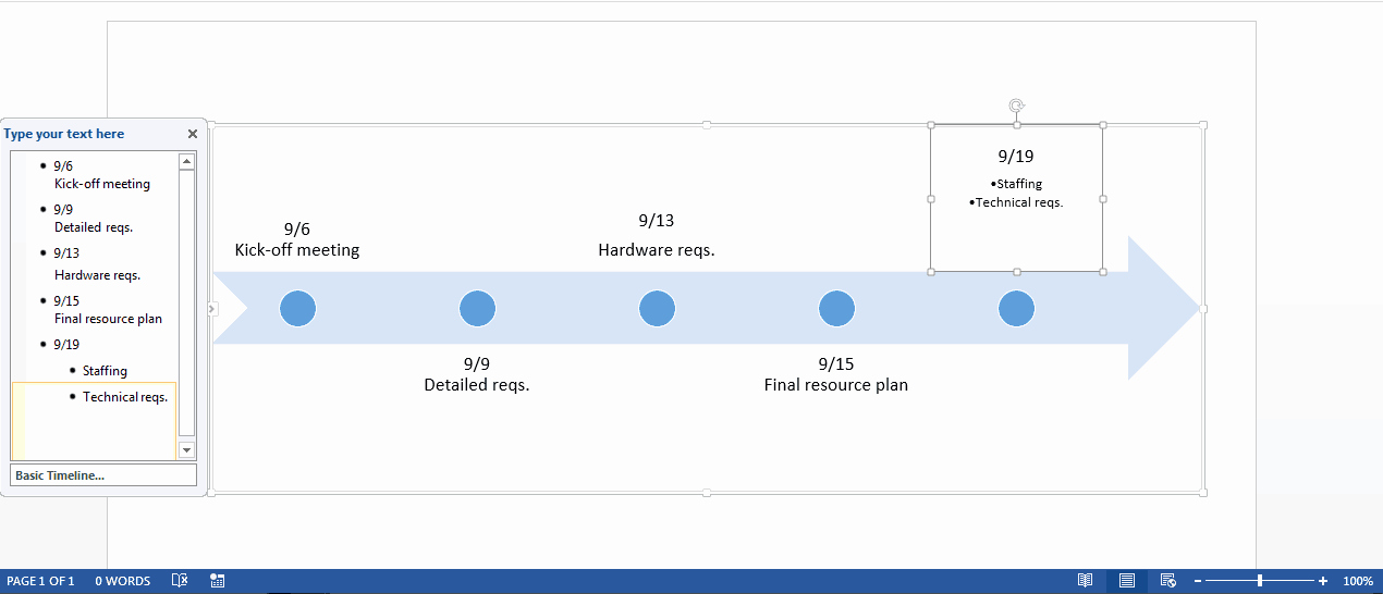 Timeline Templates for Word Best Of Free Timeline Template In Word