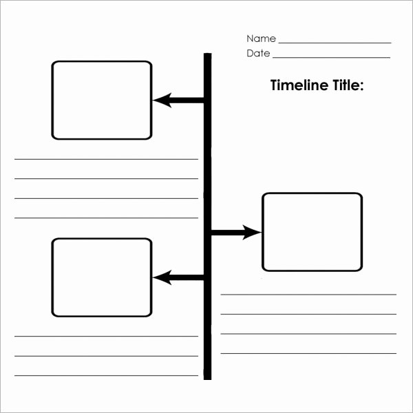Timeline Templates for Word Elegant Blank Timeline Template 6 Free Download for Pdf