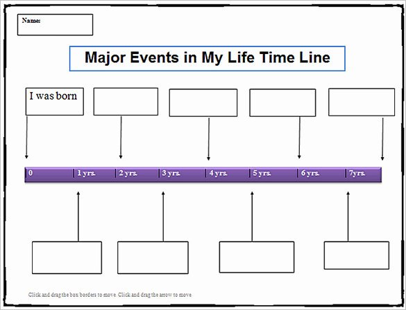 Timeline Templates for Word Fresh 18 Personal Timeline Templates Doc Pdf