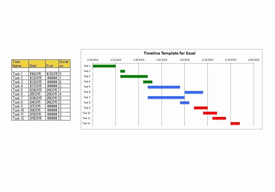 Timeline Templates for Word Inspirational 33 Free Timeline Templates Excel Power Point Word