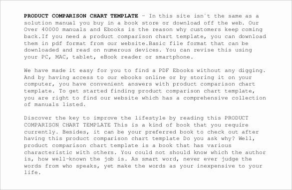 Tire Size Comparison Chart Template Inspirational 32 Parison Chart Templates Word Excel Pdf