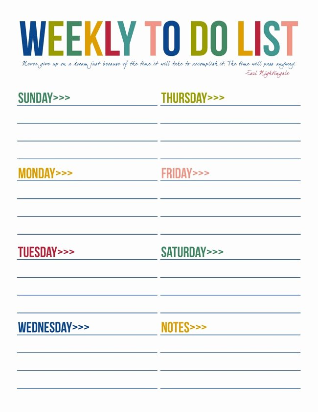 To Do List Template Free Awesome 40 Printable to Do List Templates