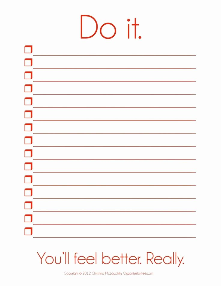 To Do List Template Free Beautiful I so Need This Things to Do Template Pdf
