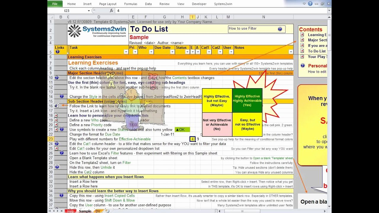 To Do List Templates Excel Awesome to Do List Excel Template
