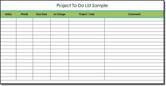 To Do List Templates Excel Fresh Free to Do List Templates with Guide to Make Your Own