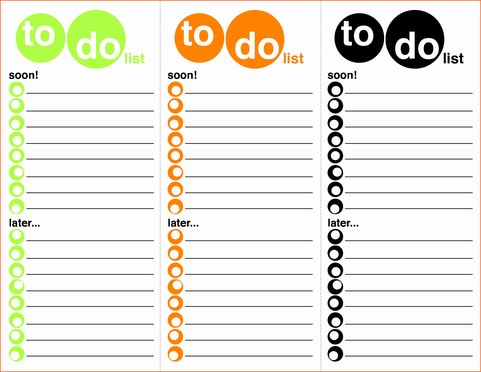 To Do List Templates Excel Unique 8 Excel to Do List Template Bookletemplate