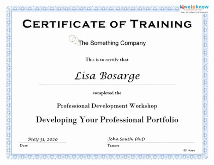 Training Certificate Template Free Elegant 15 Training Certificate Templates Free Download Designyep