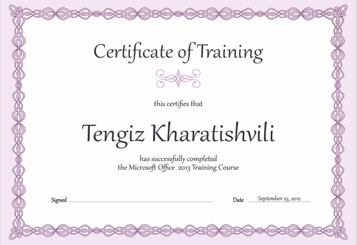 Training Certificate Template Free Luxury 15 Training Certificate Templates Free Download Designyep