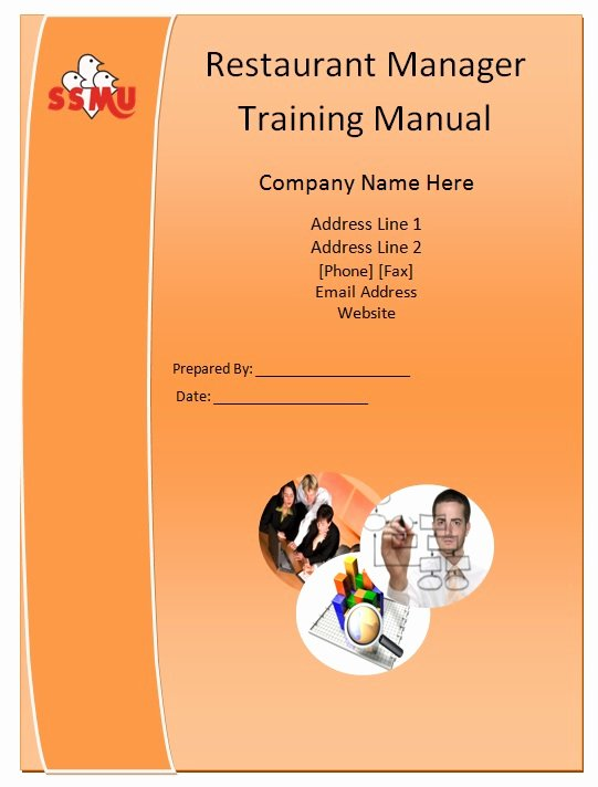 Training Manual Template Free Beautiful Restaurant Manager Training Manual Template – Manual Templates