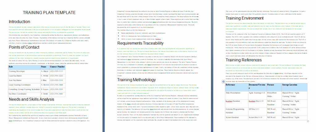 Training Manual Template Free Inspirational 60 Training Manual Templates Training Plans Word Pdf