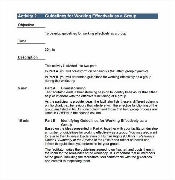 Training Manual Template Free Unique 11 Training Manual Samples Pdf