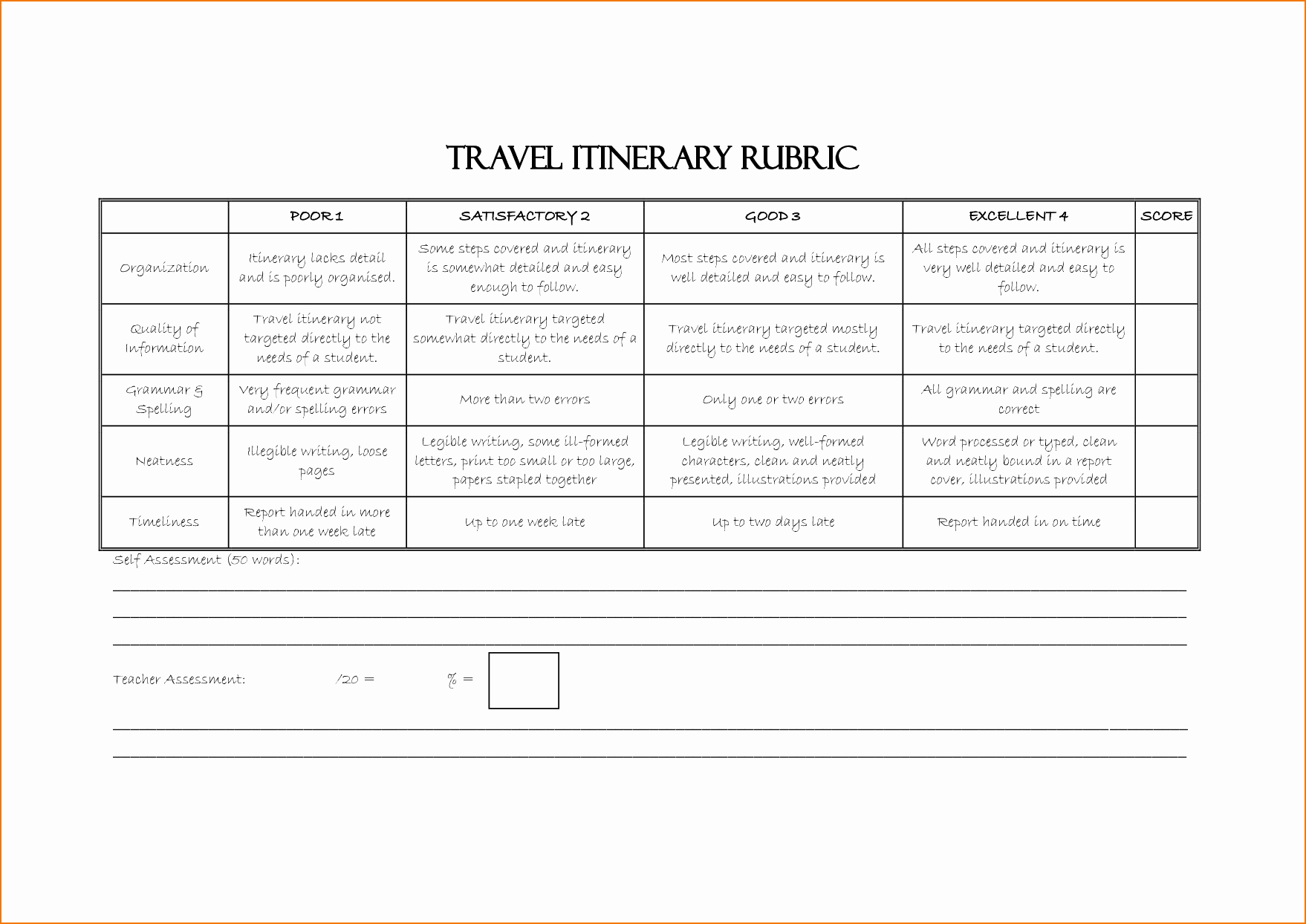 Travel Itinerary Template Word Elegant 6 Itinerary Template Word