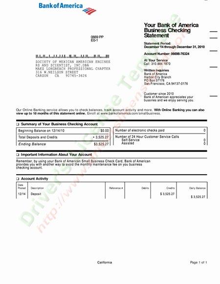Us Bank Statement Template Fresh Drivers License Fake Drivers License Drivers License
