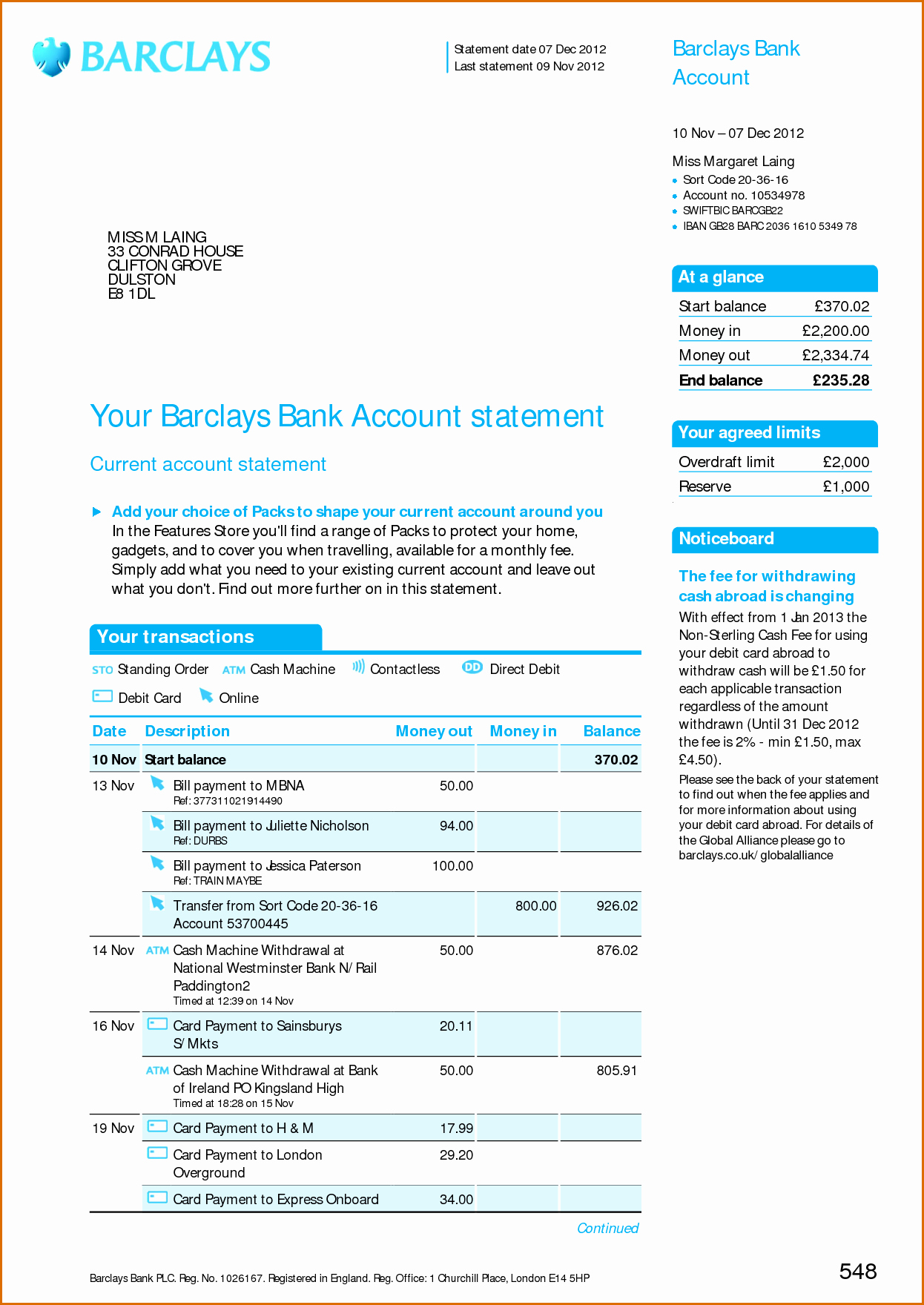 Us Bank Statement Template Unique Fake Bank Statements Templates Download