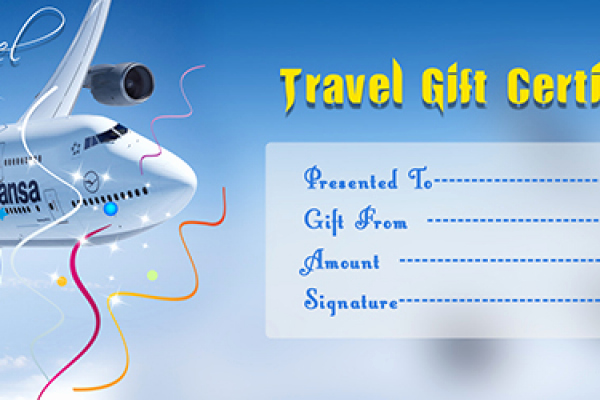Vacation Gift Certificate Template Awesome Flight T Vouchers Korting Nike